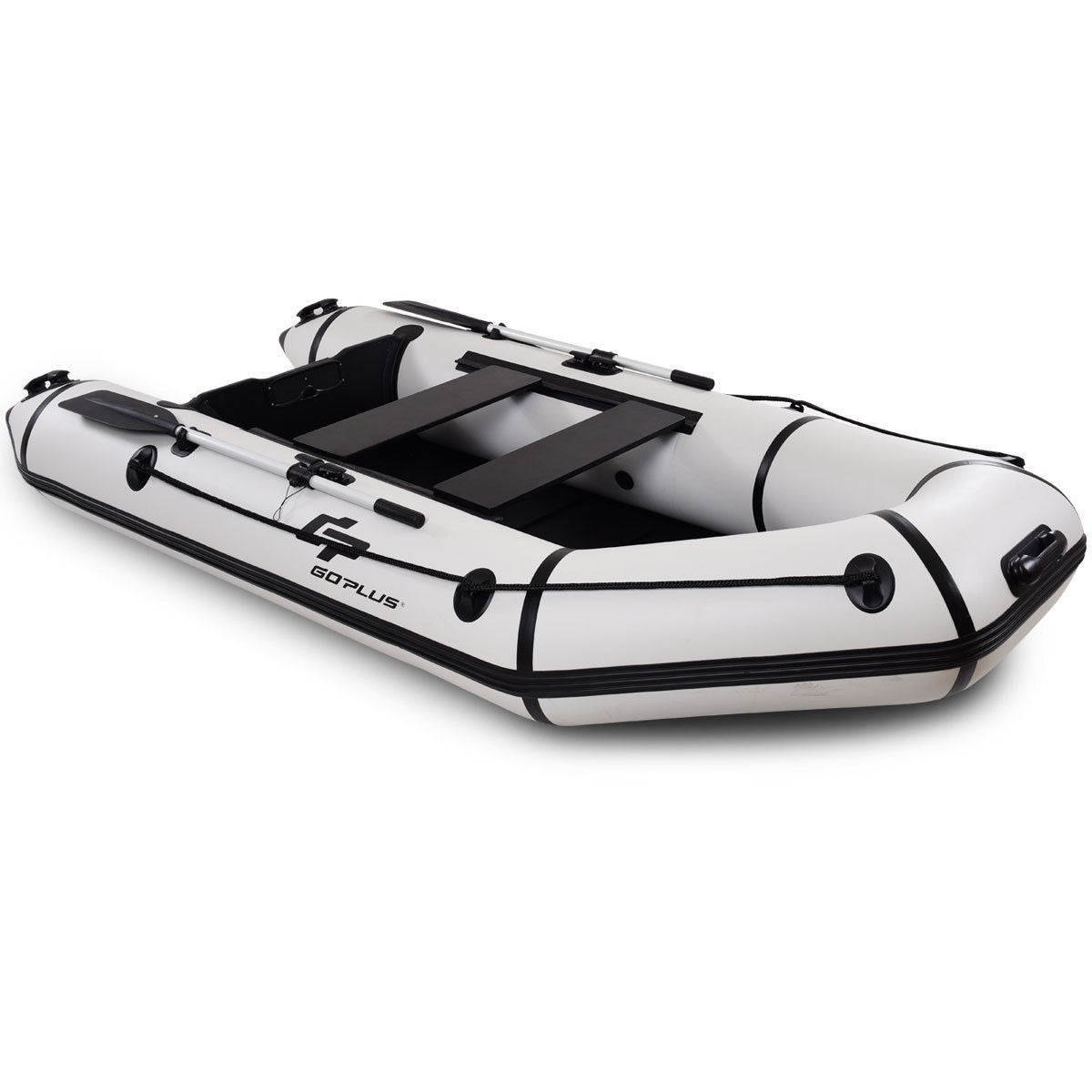 Shop Goplus 4-Person 10FT Inflatable Dinghy Boat Fishing Tender Rafting  Water Sports - as pic - On Sale - Free Shipping Today - Overstock - 20708400 35bb446ec