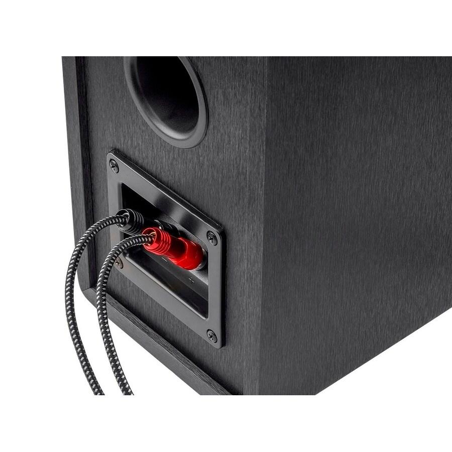 Shop Monoprice Premium Braided Speaker Wire 14AWG - 6 Feet - 4 Pack ...