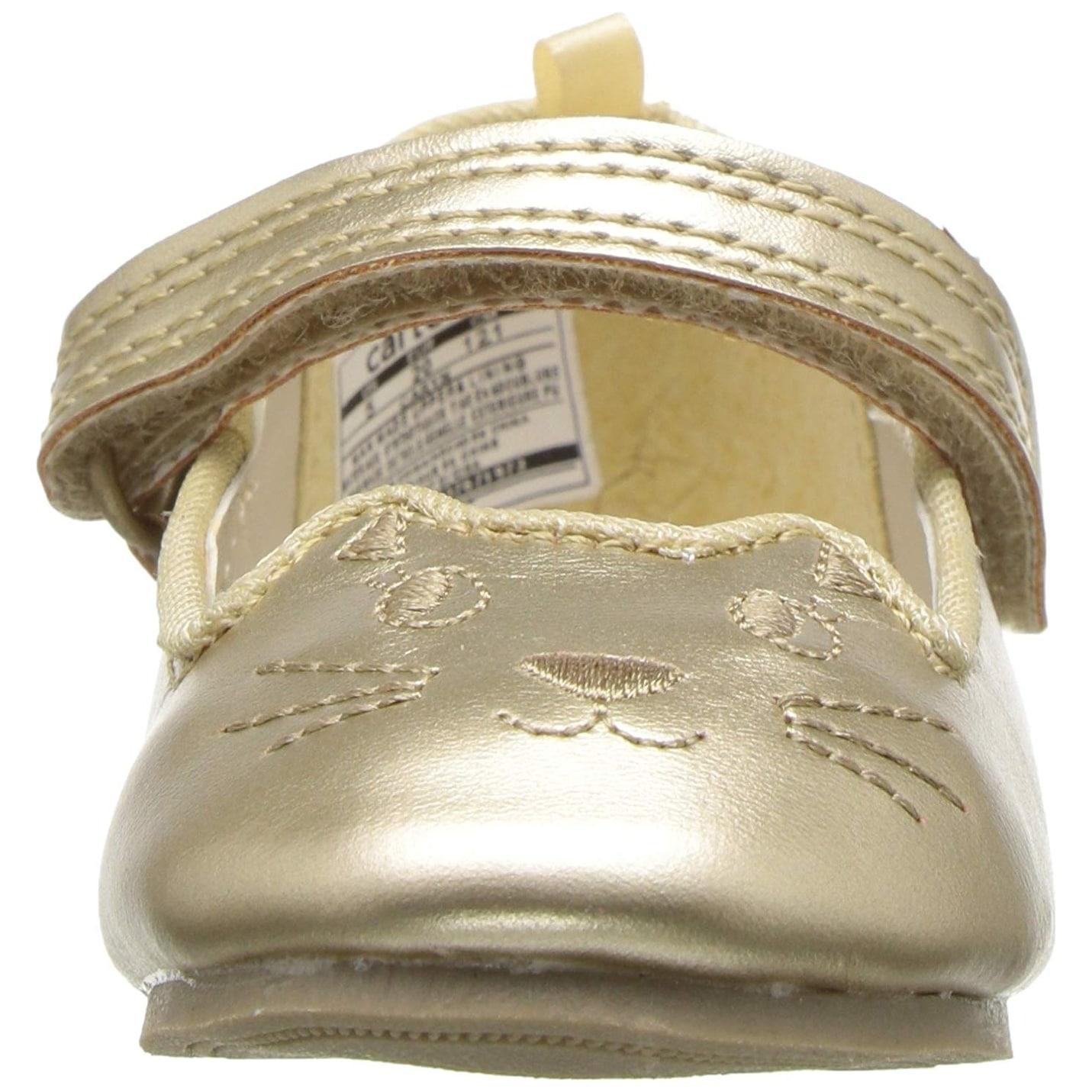 227becfad Shop Carter's Kids Caryn Girl's Kitten Flat Ballet - On Sale - Free  Shipping On Orders Over $45 - Overstock - 25442719