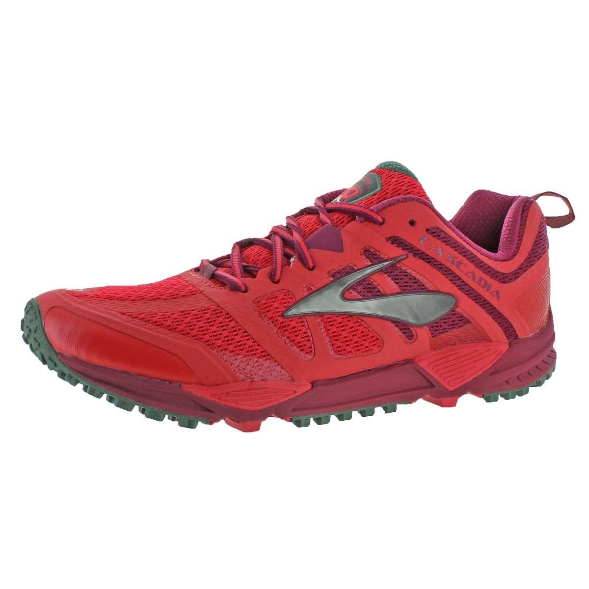 9eeb5bcfbfb Shop Brooks Womens Cascadia 11 Trail Running Shoes Athletic CrossFit - 12  medium (b