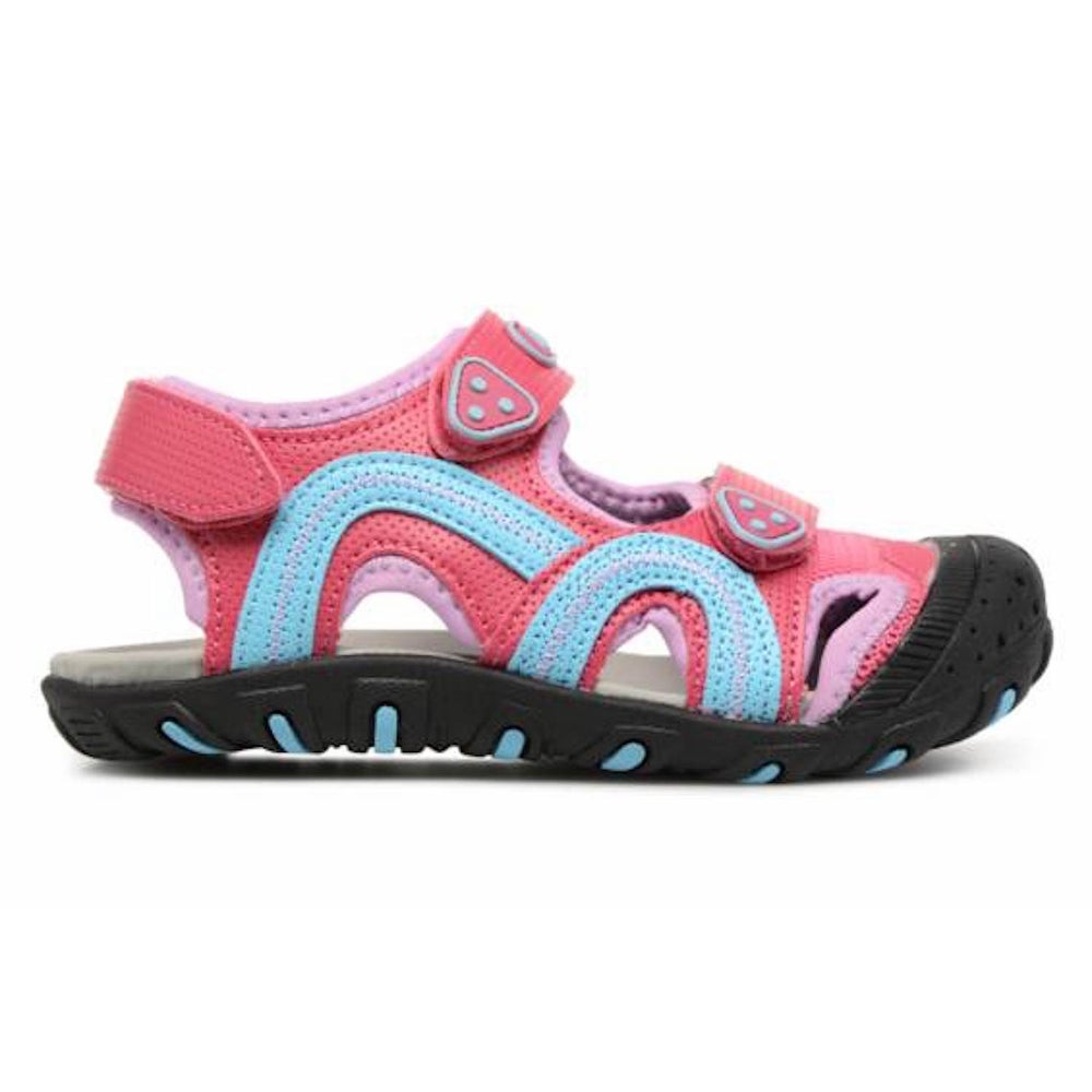 33895ea27 Shop Kamik Baby Girl Seaturtle Fabric Buckle Sandals - 9 Toddler Girl -  Free Shipping On Orders Over  45 - Overstock - 25626112