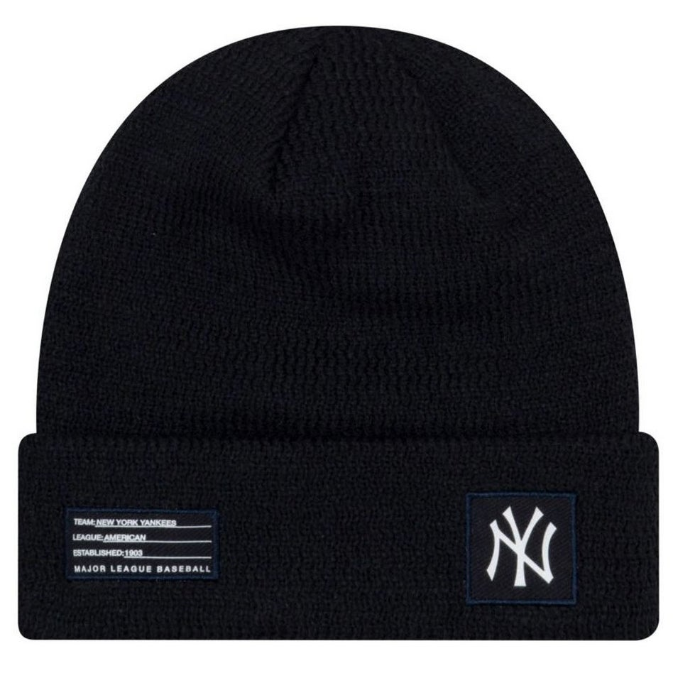 8d788865af0 Shop New Era MLB New York Yankees Sport Stocking Knit Hat Beanie Cuff Skull  Cap - Free Shipping On Orders Over  45 - Overstock - 27341168