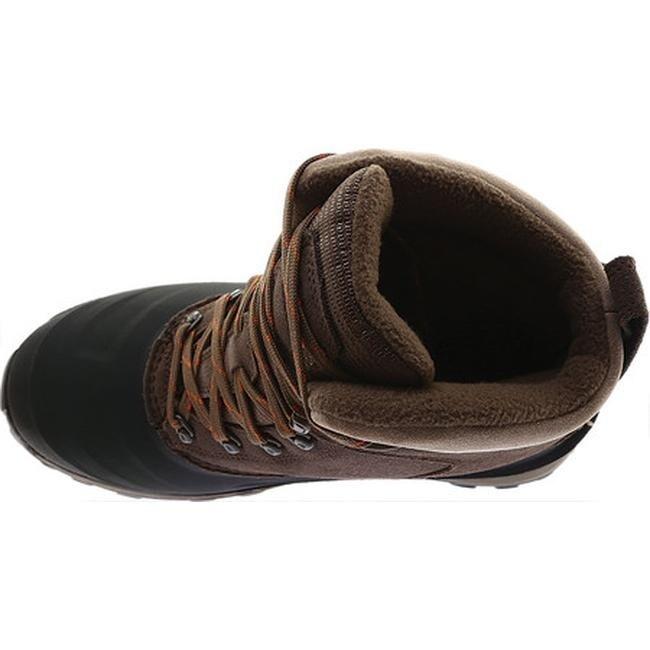 226b3367492 The North Face Men's Chilkat III Snow Boot Mudpack Brown/Bombay Orange