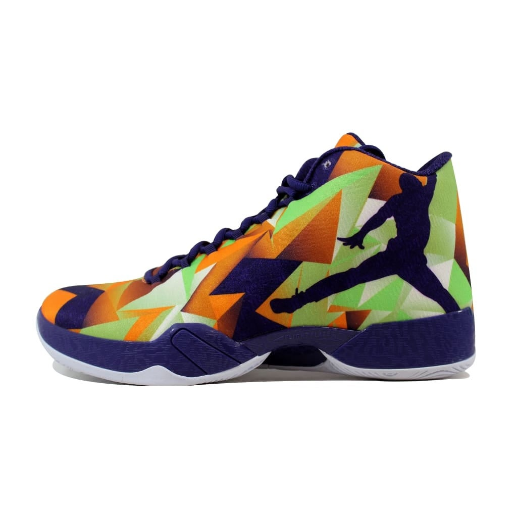 31f5dc23492 Shop Nike Men's Air Jordan XX9 29 Bright Mandarin/Ink-White-Light Poison  Green Hare 695515-805 - Free Shipping Today - Overstock - 21141363