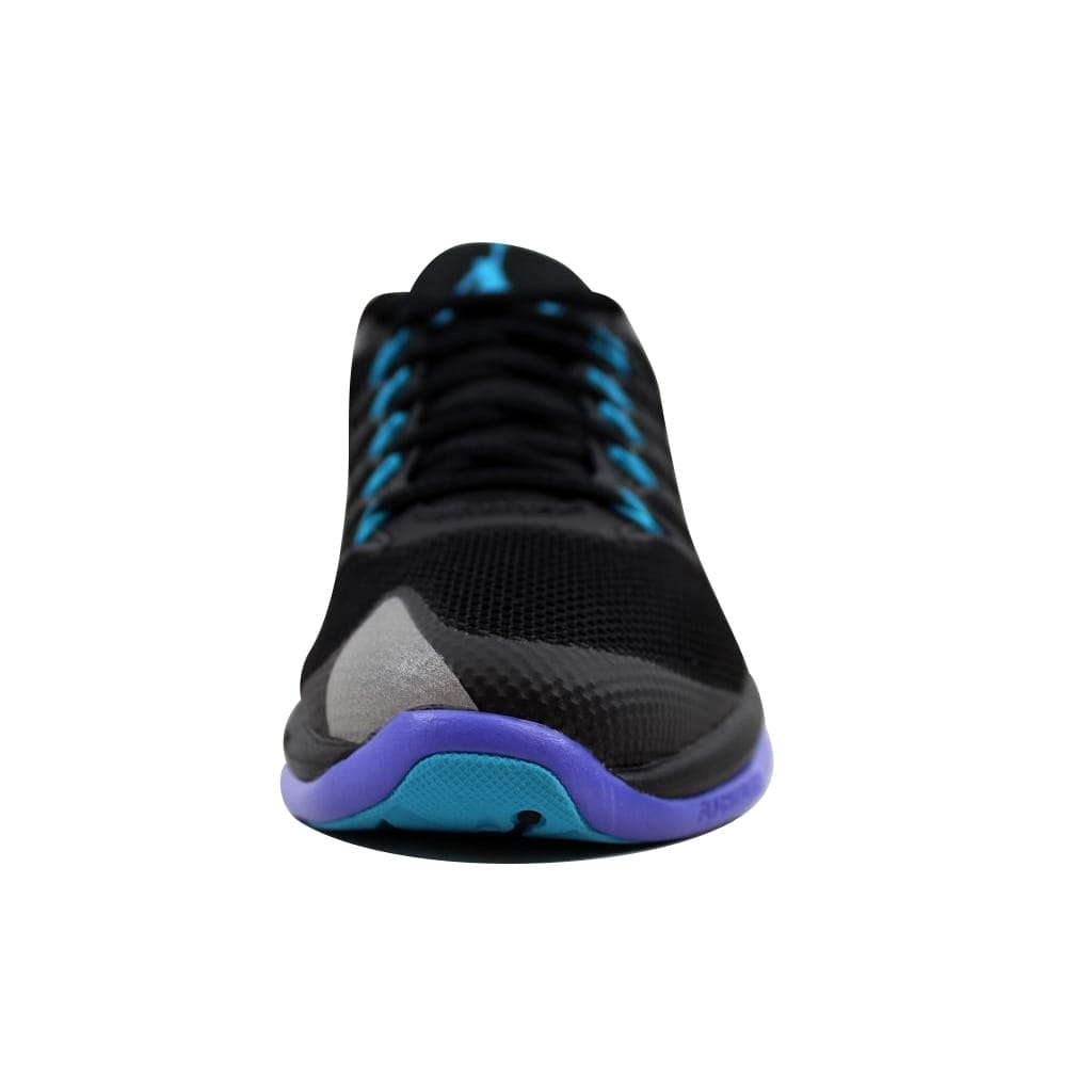 581651b714b Shop Nike Men's Air Jordan Flight Runner 2 Black/Blue Lagoon-Bright Concord  715572-007 Size 8 - Free Shipping Today - Overstock - 22340322