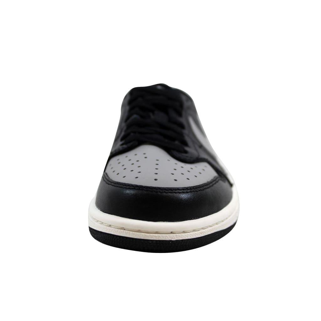 90b54419a279 Shop Nike Men s Air Jordan I 1 Retro Low OG Black Medium Grey-Sail Shadow  705329-003 Size 8 - Free Shipping Today - Overstock.com - 22919507