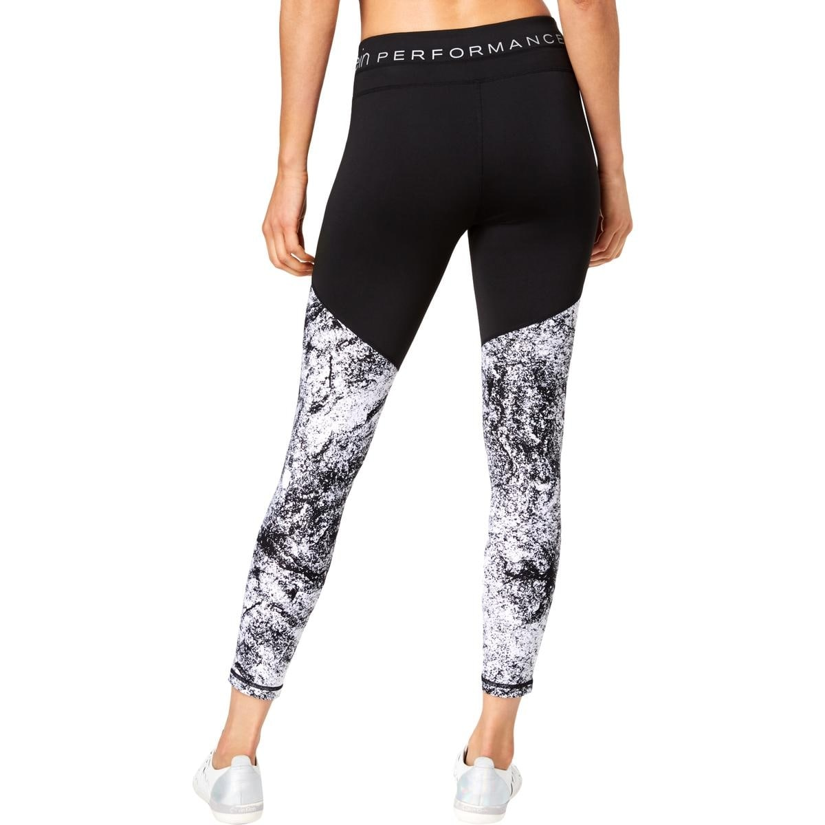 73d49f97033c4 Shop Calvin Klein Performance Womens Athletic Leggings Yoga Fitness - Free  Shipping On Orders Over $45 - Overstock - 27431538