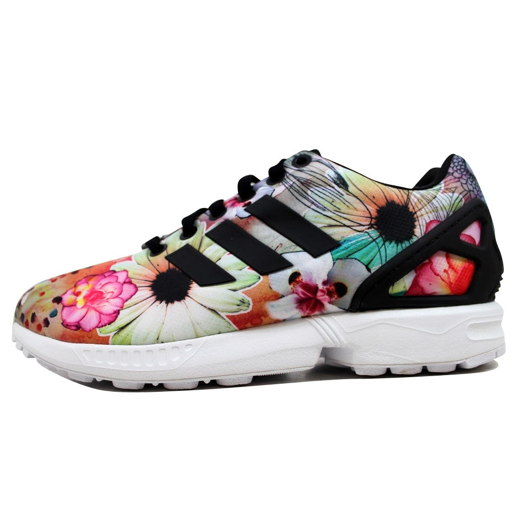 916a802965ce8 Shop Adidas Women s ZX Flux Black Black-White The Farm Company S78976 -  Free Shipping Today - Overstock - 19527765