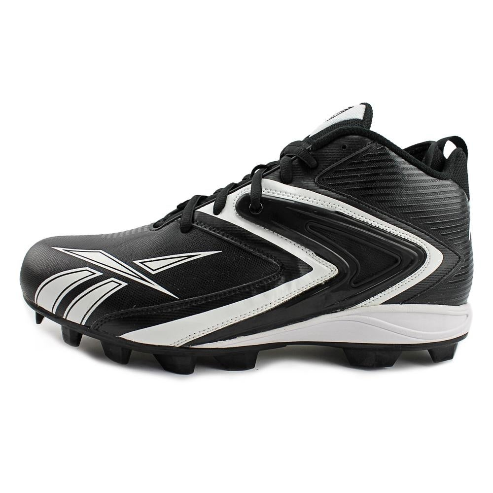 076ec07fd3c7c8 Shop Reebok NFL Ferocious M12 Men Black White Cleats - Free Shipping On  Orders Over  45 - Overstock.com - 15815906