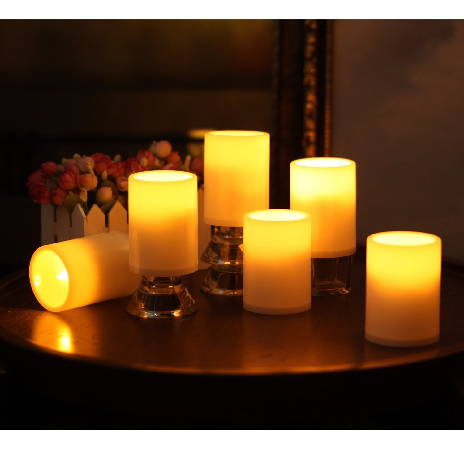 Candles Enthusiastic Led Candles Light Night Lights Energy Saving Flameless Candle Lamp Battery Operated Christmas Home Decor Wedding Party Strong Packing Candles & Holders