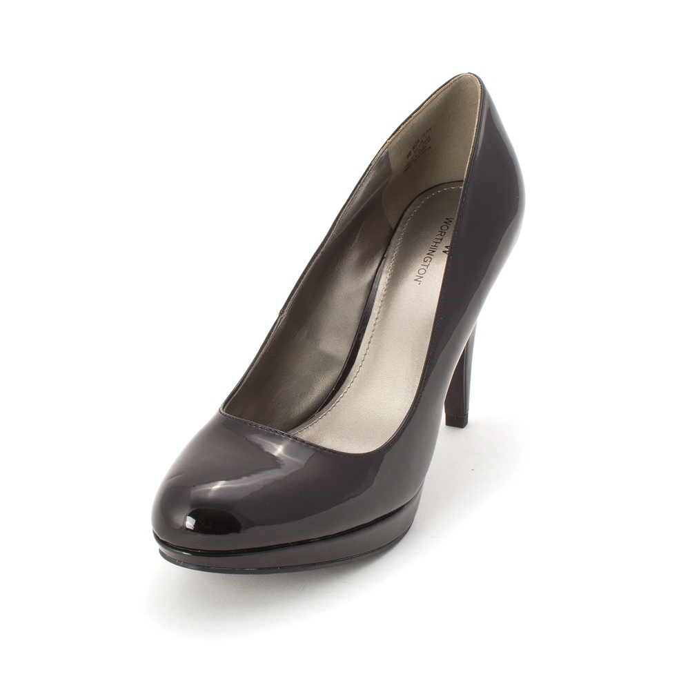 6d4291554d42b Shop Worthington Womens Wor Jean Round Toe Classic Pumps - 8 - Free  Shipping On Orders Over  45 - Overstock - 25725020