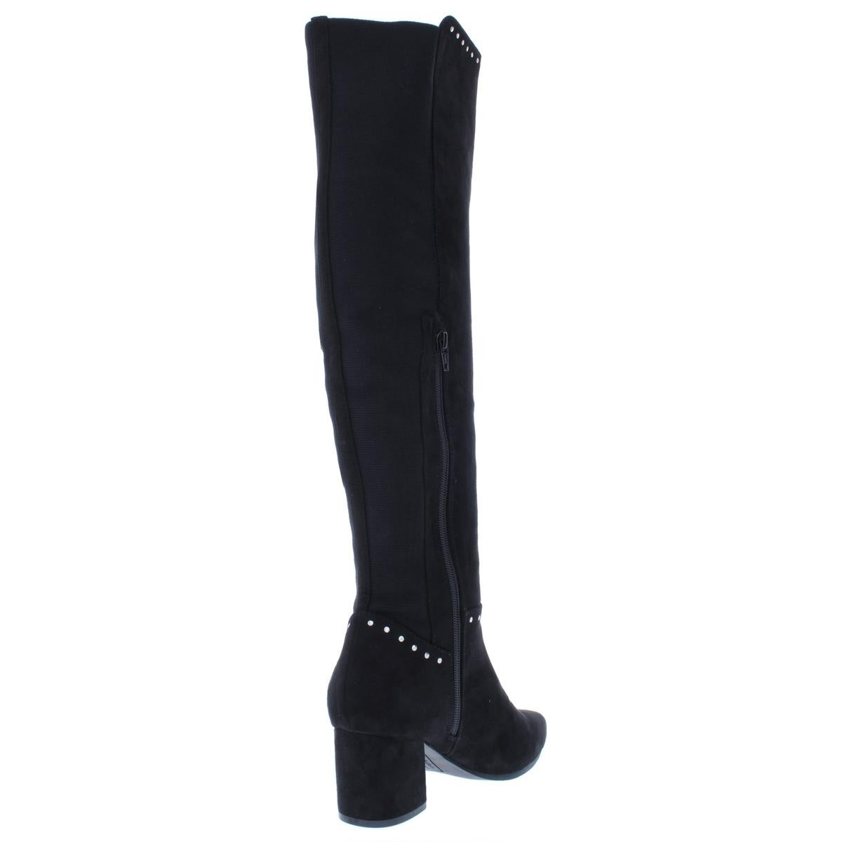 8cb720e19f3 Shop Seven Dials Womens Nicki Over-The-Knee Boots Studded Faux Suede - Free  Shipping On Orders Over  45 - Overstock - 24186669