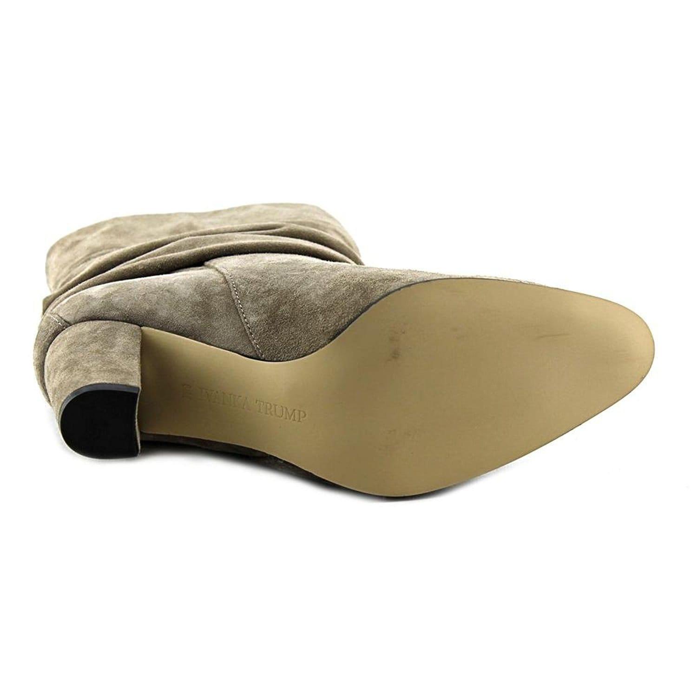 Ivanka Trump Womens Jalli Tausu Almond Toe Mid Calf Fashion Boots