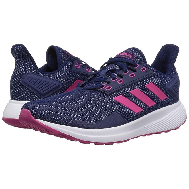 low priced a178a 9c519 Shop Adidas Womens Duramo 9 Running Shoe, Dark BlueReal MagentaWhite,  8.5 M Us - Free Shipping Today - Overstock - 25367668