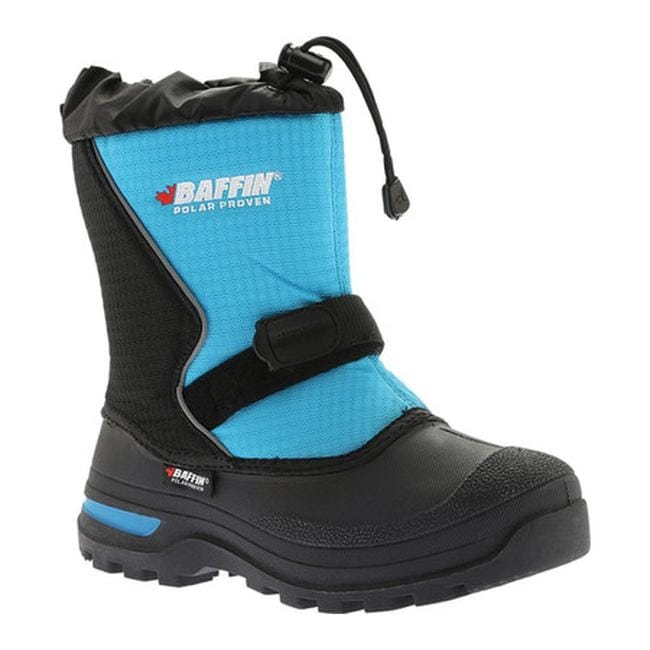 db496df4d3d Baffin Children's Mustang Snow Boot Black/Electric Blue