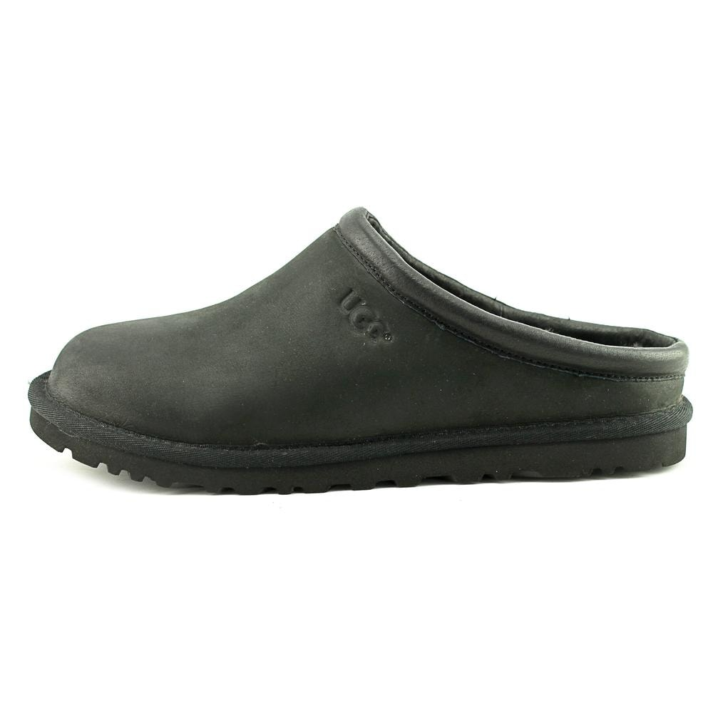 Shop UGG Classic Clog Men Round Toe Leather Slipper - Free Shipping Today - Overstock.com - 17982163