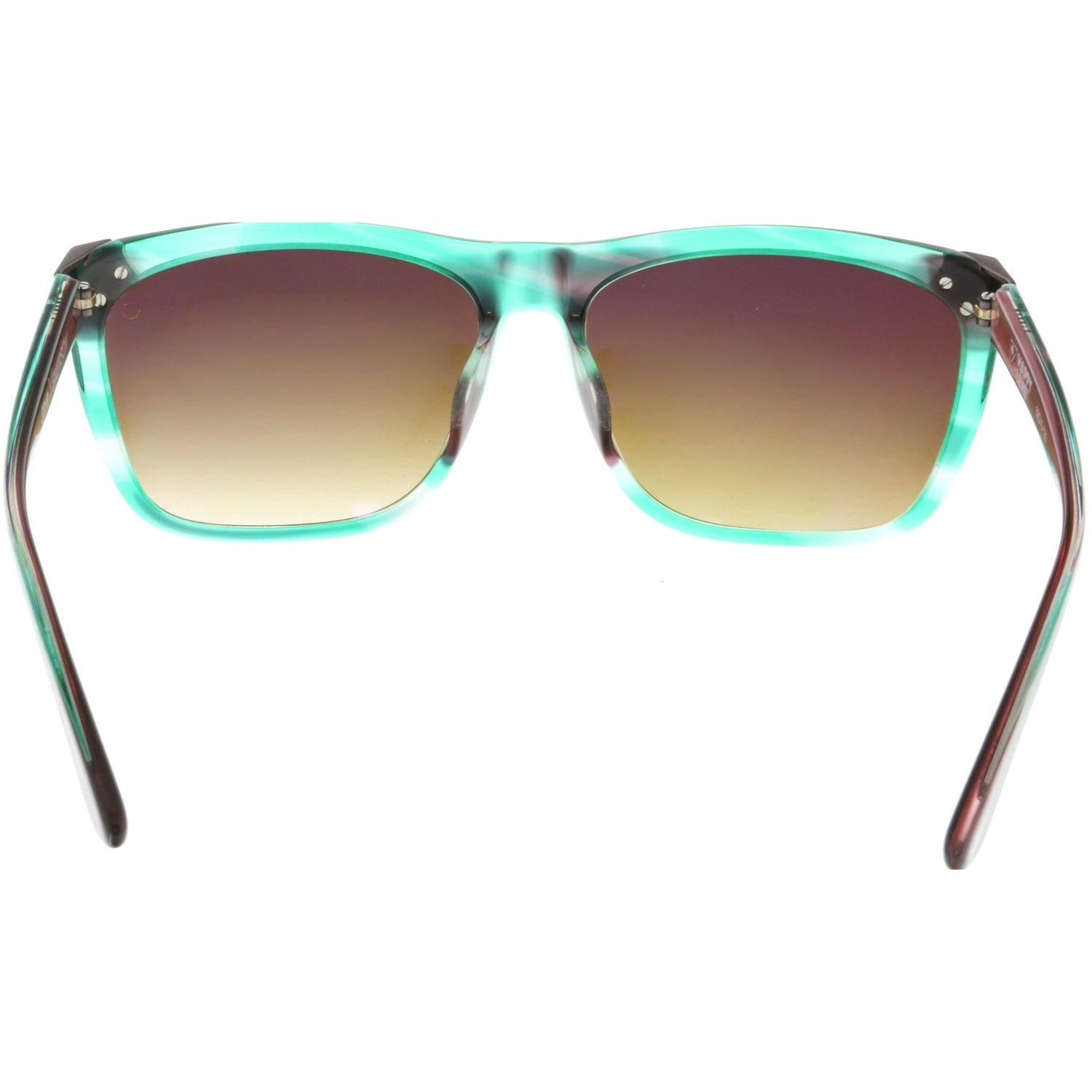 f53dbe9875 Shop Spy Gradient Emerson 673244070355 Green Clubmaster Sunglasses - Free  Shipping Today - Overstock - 19547623