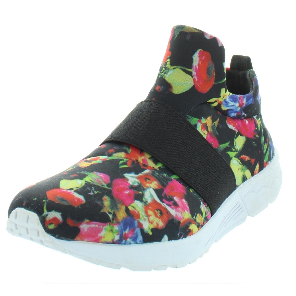 faee2ba5fb2 Shop Steve Madden Womens Hueber Fashion Sneakers Floral Print Low Top - 11  Medium (B