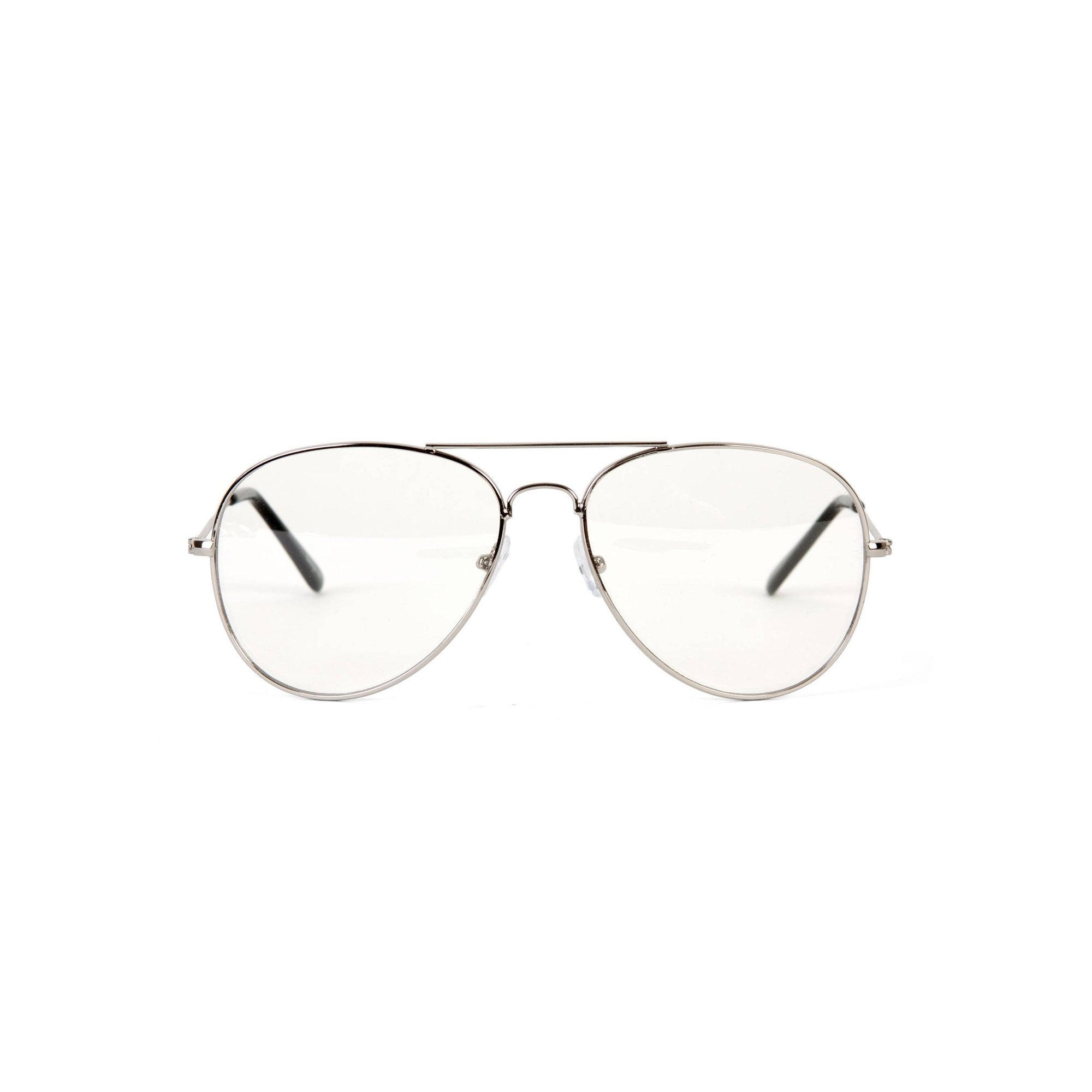 shop gravity shades clear lens aviator sunglass silver 12 pack Ray-Ban Aviators Size Guide shop gravity shades clear lens aviator sunglass silver 12 pack one size free shipping on orders over 45 overstock 16965482