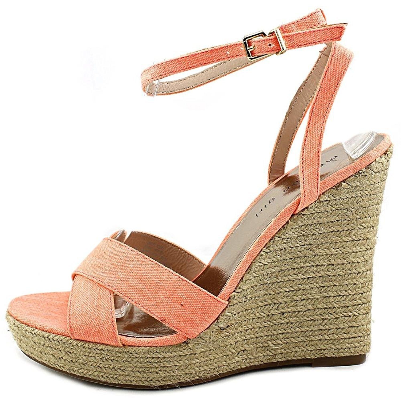 c488b5d8060 Shop Madden Girl Womens VIICKI Canvas Open Toe Casual Platform ...