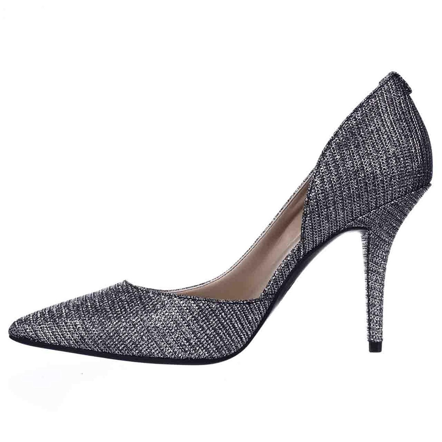 4e3816214266 Shop MICHAEL Michael Kors Womens Nathalie Flex Suede Pointed Toe D-orsay  Pumps - Free Shipping Today - Overstock - 19840677