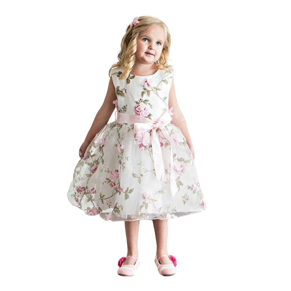 Shop Think Pink Bows Baby Girls Pink Floral Spring Garden Flower