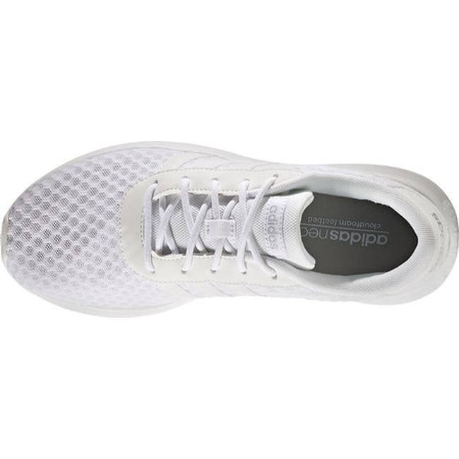 sale retailer b9a42 ea90b Shop adidas Women s NEO Lite Racer Sneaker FTWR White FTWR White Matte  Silver - Free Shipping On Orders Over  45 - Overstock - 14222662