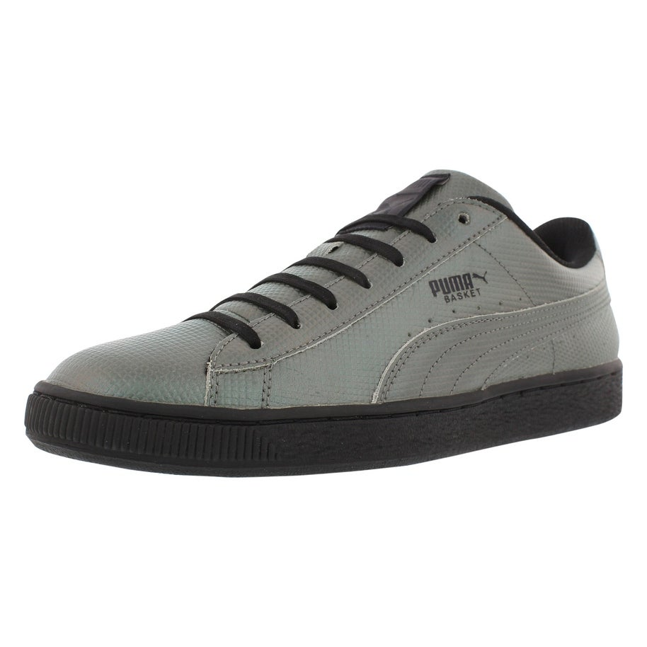 brand new a6bf6 00ef6 Puma Basket Classic Holographic Fashion Sneaker Men's Shoes Size - 11.5  D(M) US