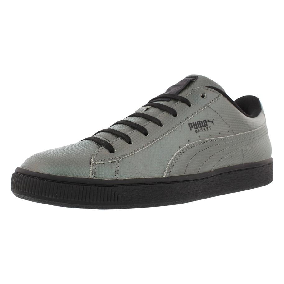 brand new 3ea4f e2938 Puma Basket Classic Holographic Fashion Sneaker Men's Shoes Size - 11.5  D(M) US