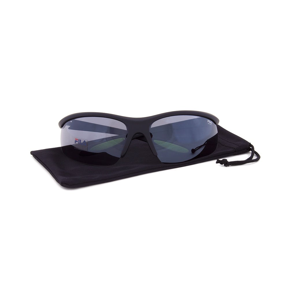 63c01db62d Shop Fila Sport F1060 002 Wrap Sunglasses - Free Shipping On Orders Over   45 - Overstock.com - 19622462