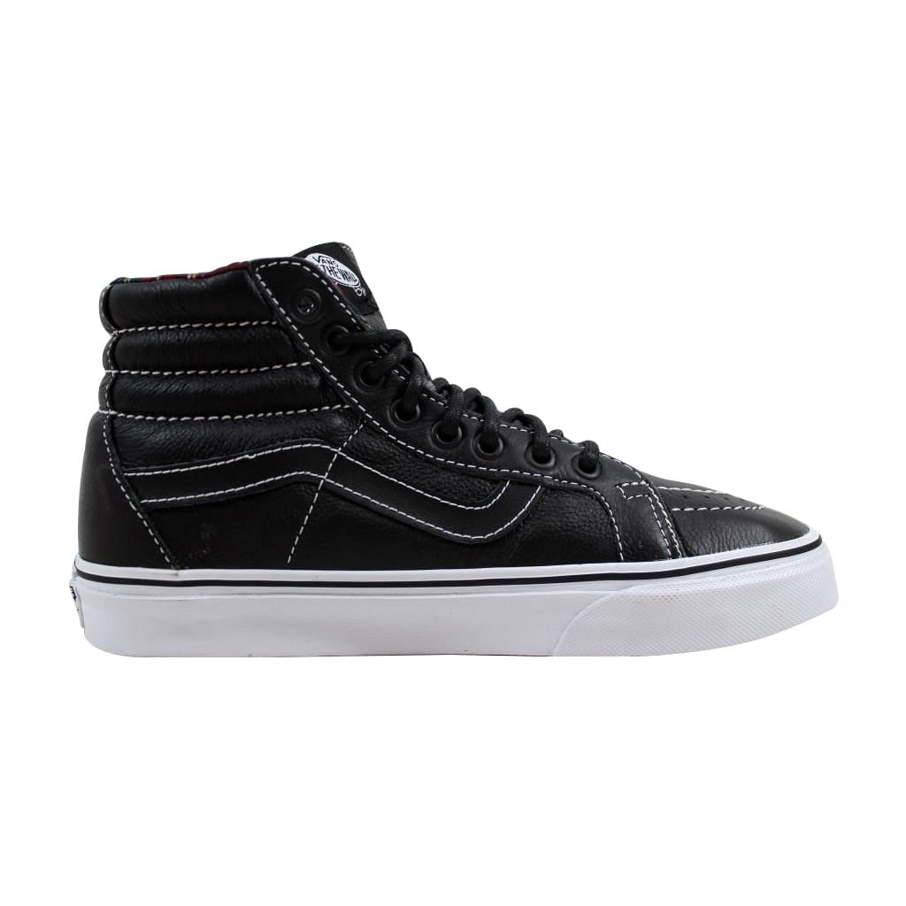 fb0de49f4a42 Shop Vans Men s Sk8 Hi Reissue Black Plaid Leather VN0003CAI1I Size 6 -  Free Shipping On Orders Over  45 - Overstock - 21893296