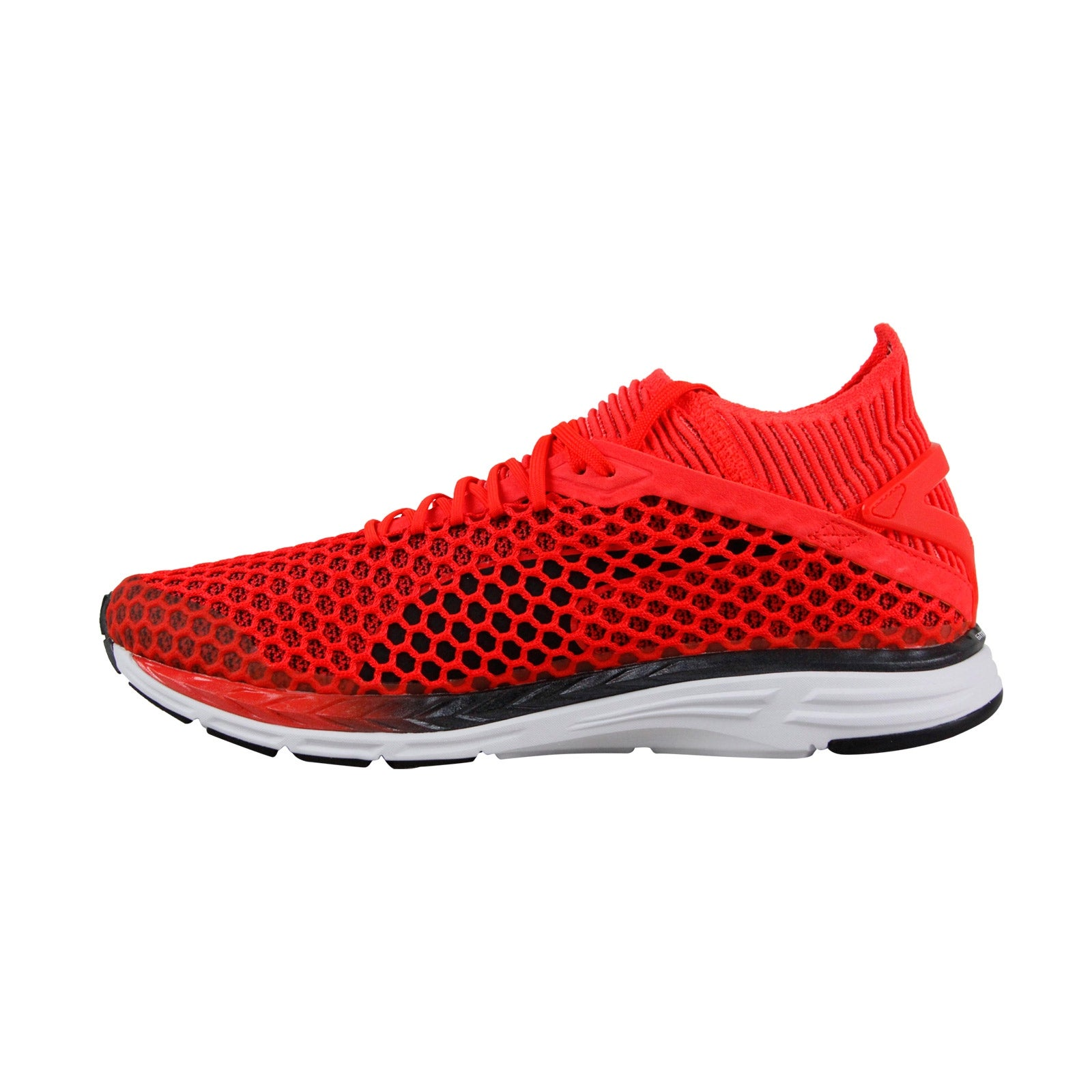 0ed7526c01c5 Shop Puma Speed Ignite Netfit 2 Mens Red Mesh Athletic Lace Up Running Shoes  - Free Shipping Today - Overstock - 25586684