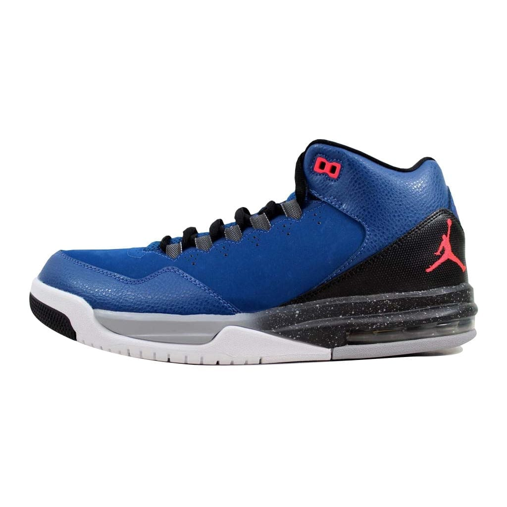 161f22ab2bf5 Shop Nike Men s Air Jordan Flight Origin 2 French Blue Infrared  23-Black-Wolf Grey705155-420 - Free Shipping Today - Overstock - 22360618