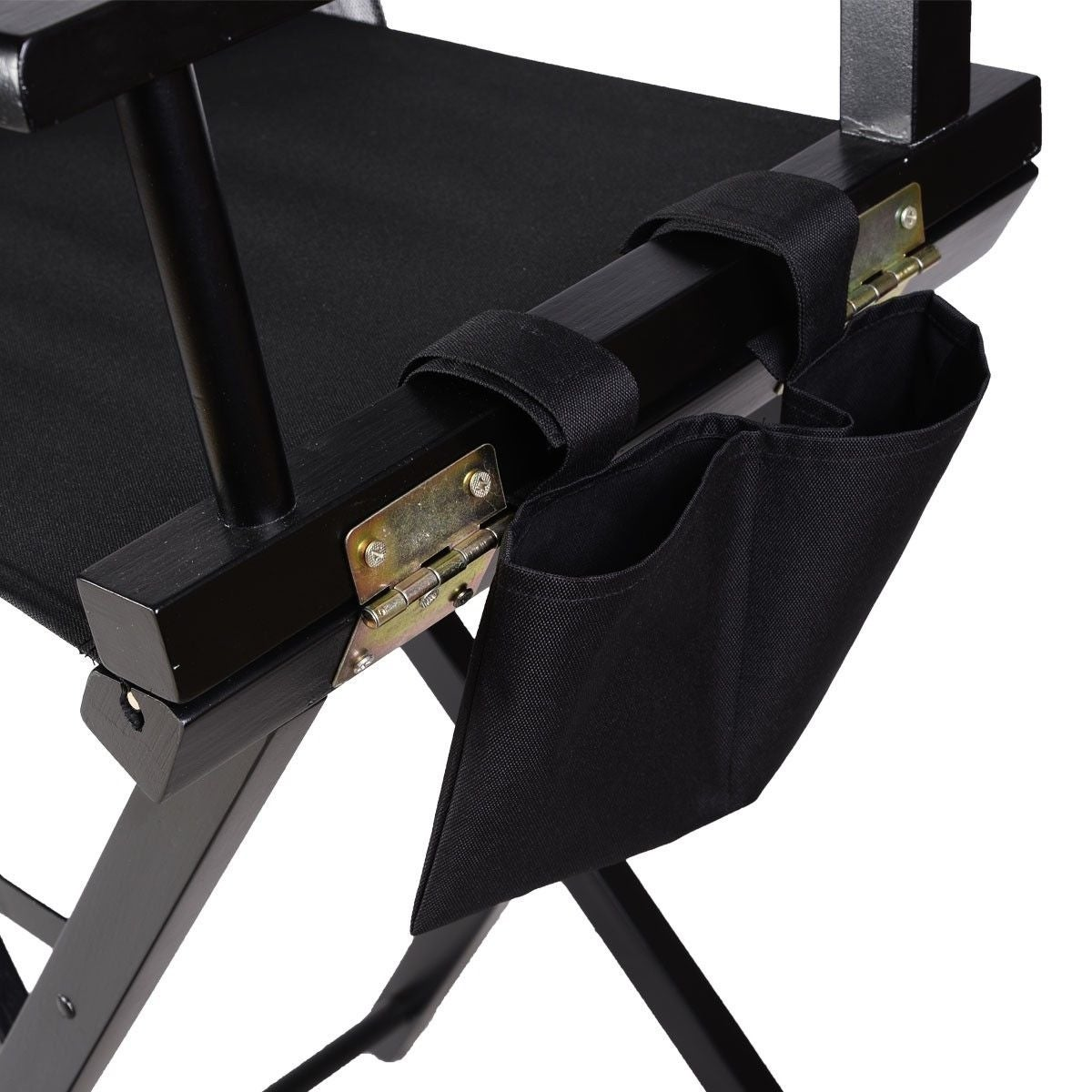Shop Costway Professional Makeup Artist Directors Chair Wood Light Weight Foldable Black - Free Shipping Today - Overstock - 18529761