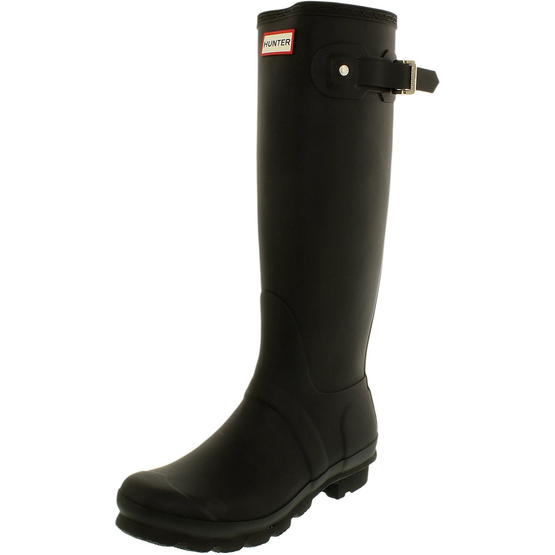 5e3be9dd76e8 Hunter Women s Original Tall Knee-High Rubber Rain Boot