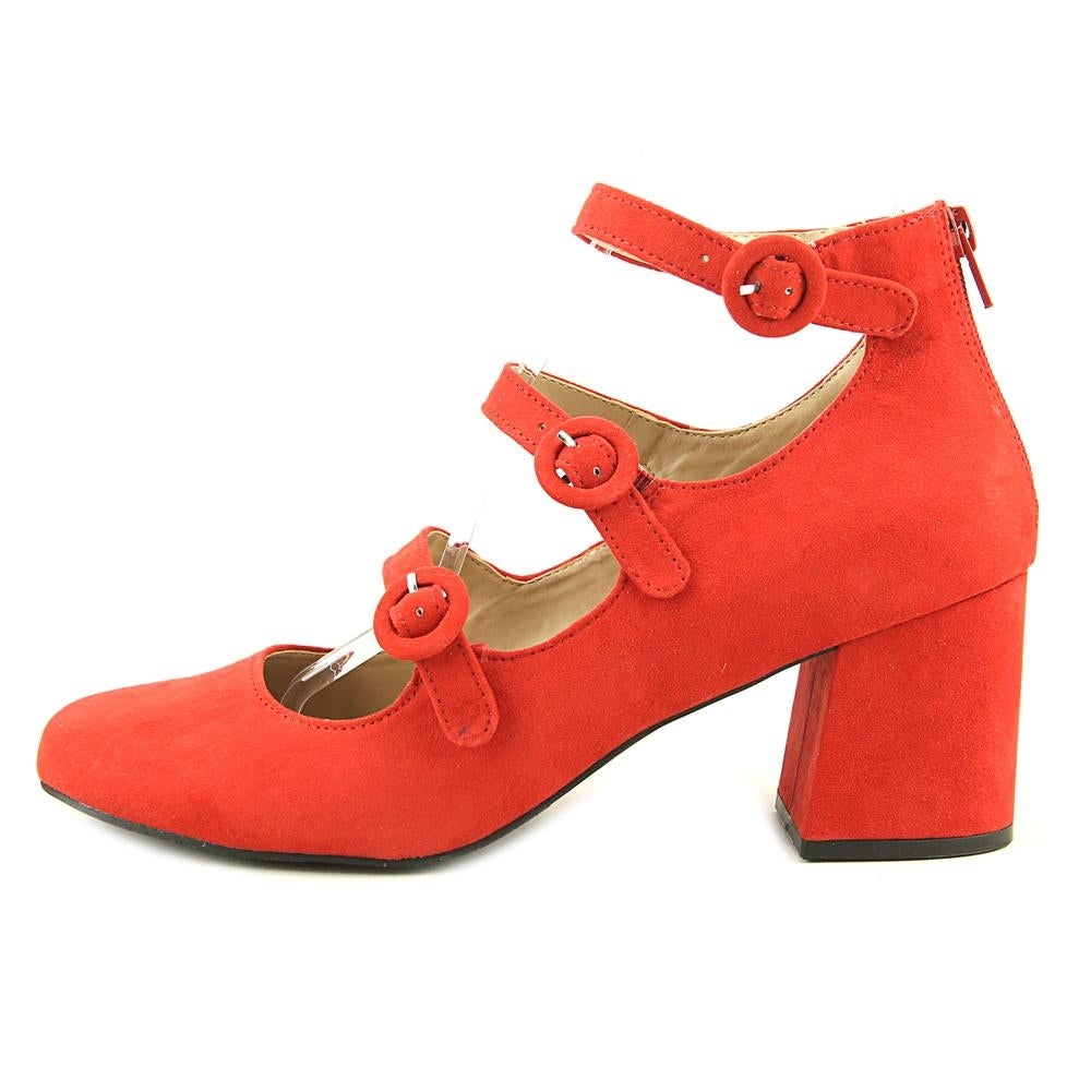 276d7b88bc05 Shop Mix No 6 Deima Women Round Toe Suede Red Heels - Free Shipping Today -  Overstock - 20006601