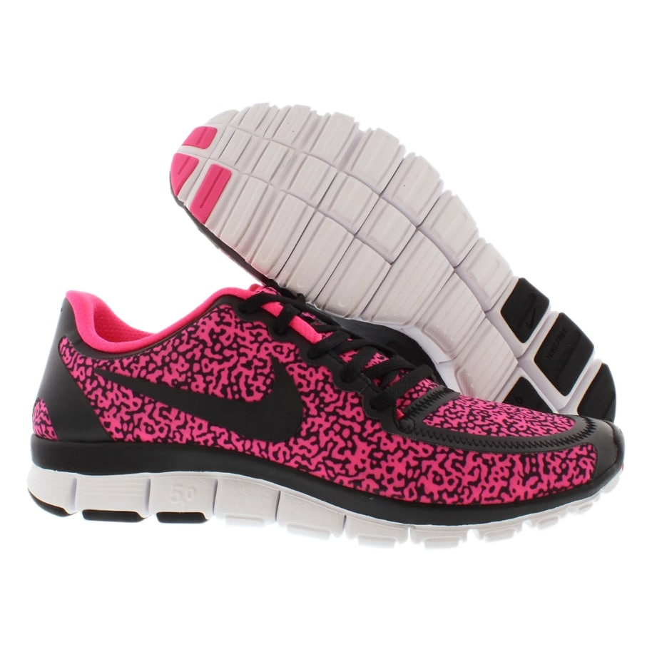 Shop Nike Free 5.0 V4 Running Women s Shoes - Free Shipping Today -  Overstock - 22020909 39361ff5e