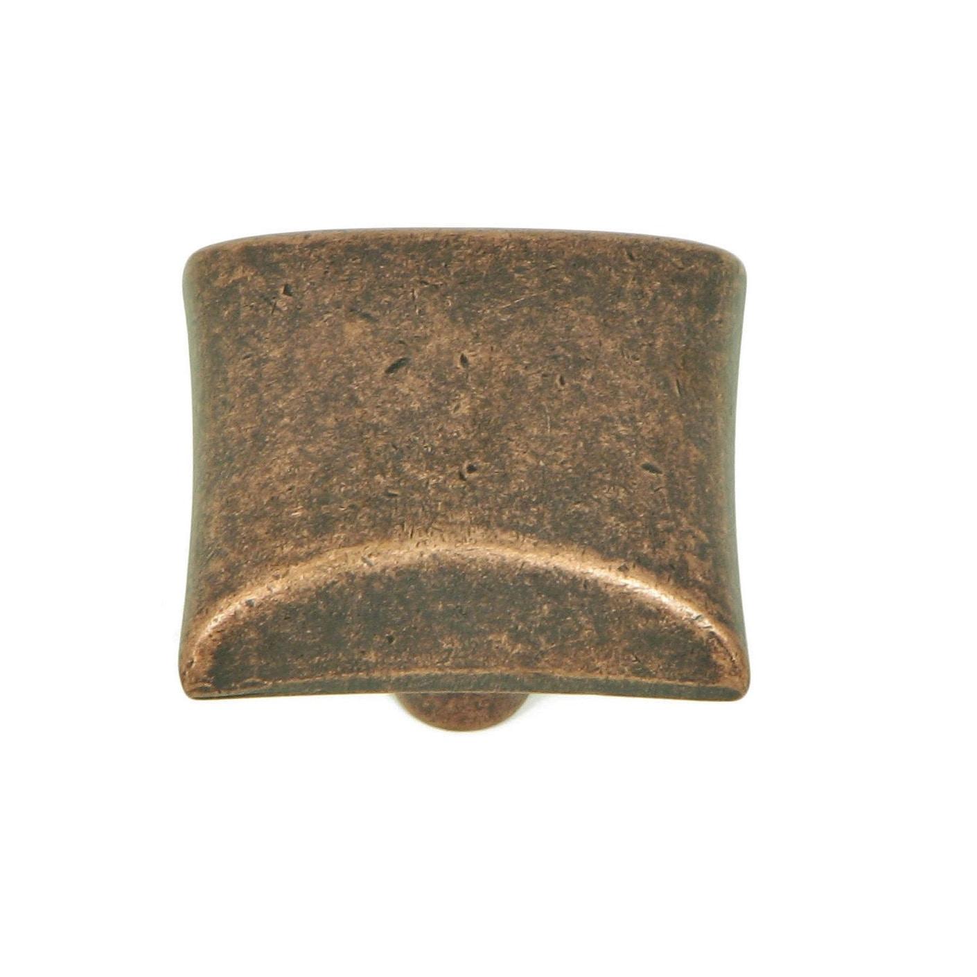 Stone Mill Hardware - Antique Copper Bella Cabinet Knobs (Pack of 10) - Shop Stone Mill Hardware - Antique Copper Bella Cabinet Knobs (Pack