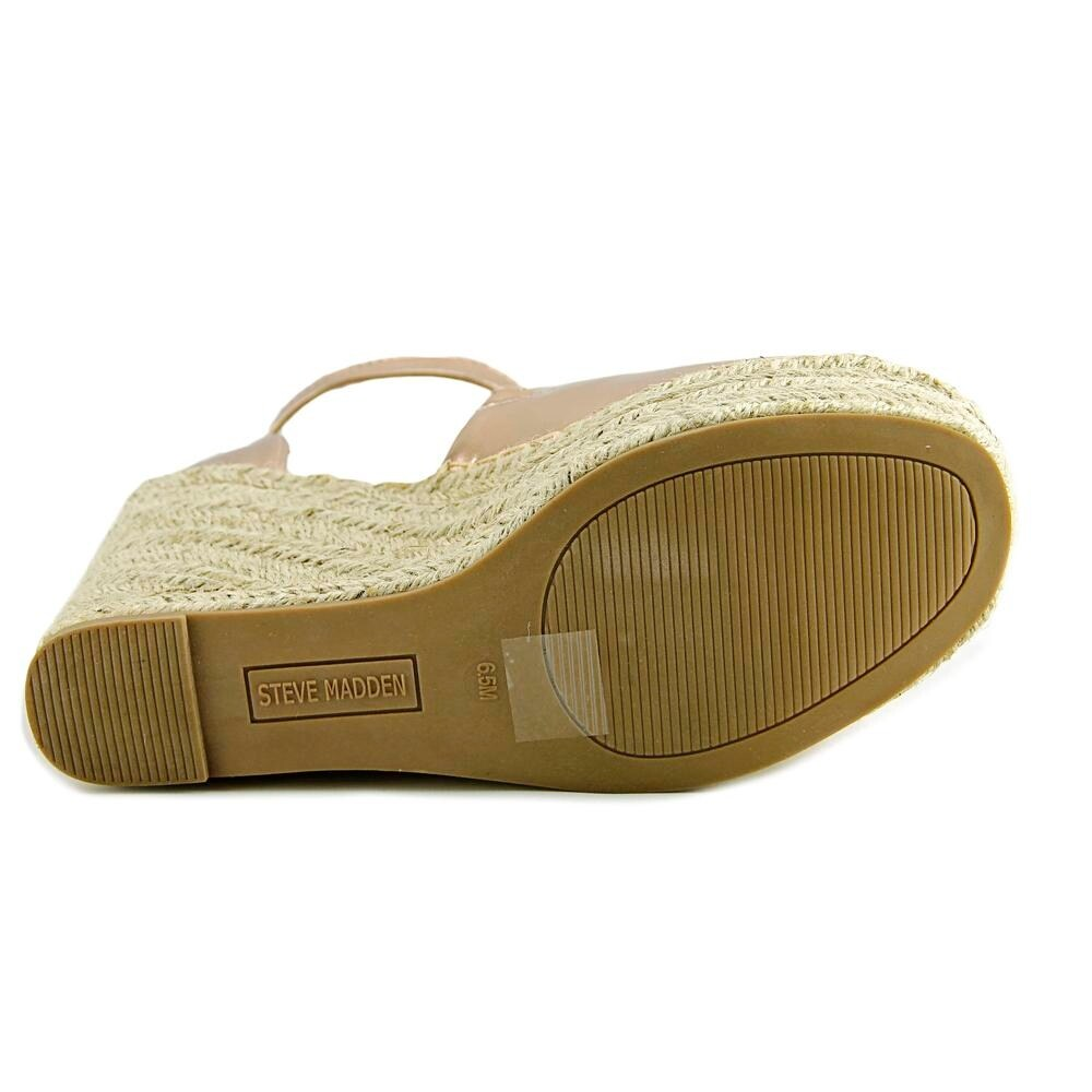 817181d5b895 Shop Steve Madden Jaylen Rose Gold Sandals - Free Shipping On Orders Over   45 - Overstock - 18738233