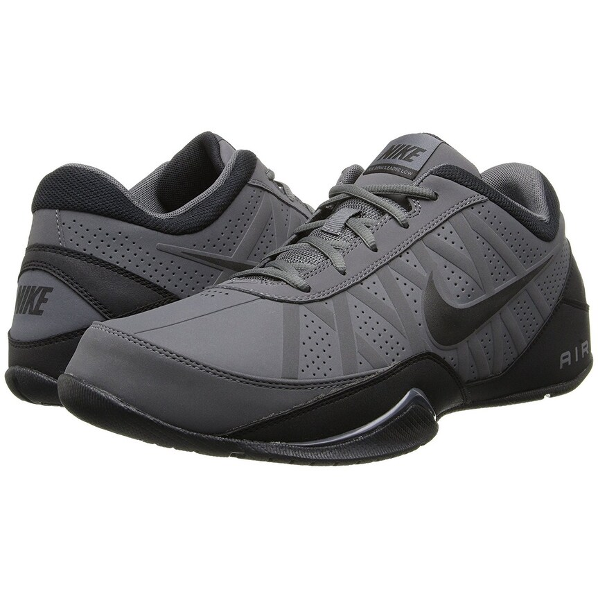 9db93a9525b6f8 Shop Nike Mens Air Ring Leader Basketball Shoe (Low) Dark Grey Black 11 -  Free Shipping Today - Overstock - 18275376