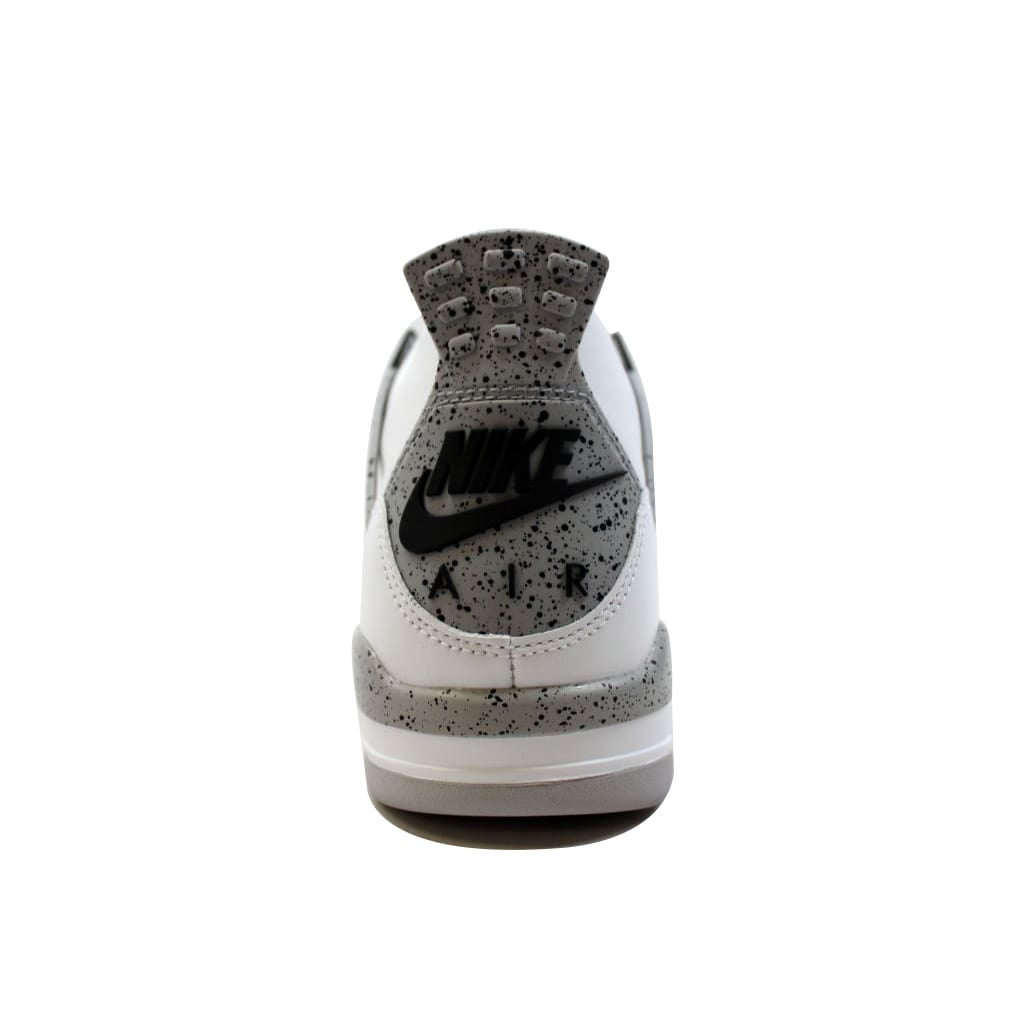 wholesale dealer 5dbb6 5f336 Shop Nike Men s Air Jordan IV 4 Retro OG White Fire Red-Black-Tech Grey  White Cement 840606-192 - Free Shipping Today - Overstock - 19507407