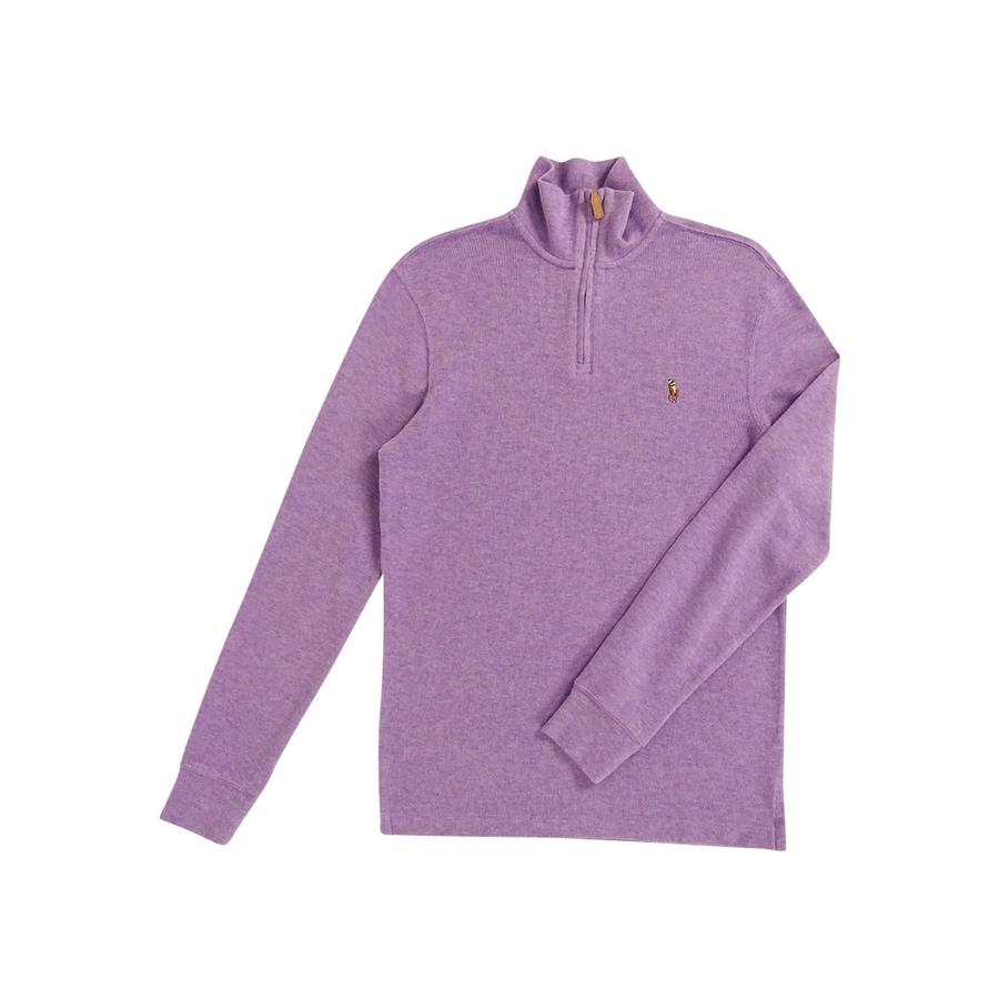 Shop Polo Ralph Lauren Men s Estate Rib Half Zip Sweater - Free Shipping  Today - Overstock.com - 18691301 9336409d2e