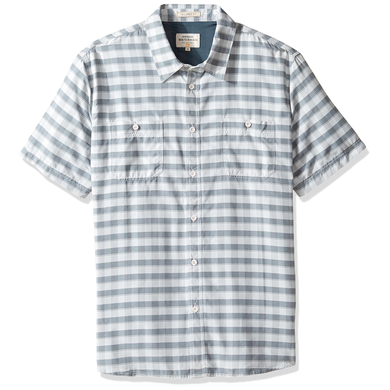 e5cf2e10 Mens White Short Sleeve Button Shirt - DREAMWORKS