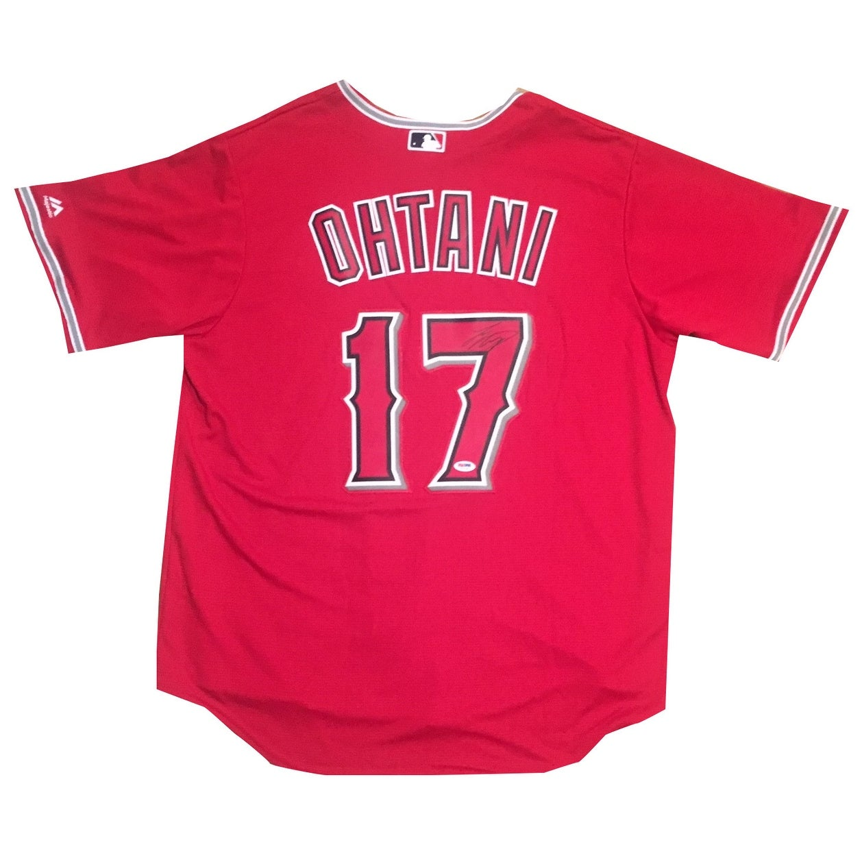 more photos 0aa16 6db17 Shohei Ohtani Autographed Los Angeles Angels Signed Baseball Jersey PSA DNA  COA