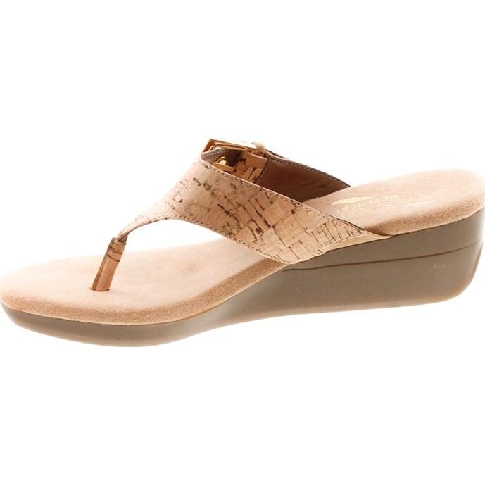 b6e0618c088b Shop Aerosoles Women s Flower Wedge Sandal - Free Shipping On Orders Over   45 - Overstock - 20908563