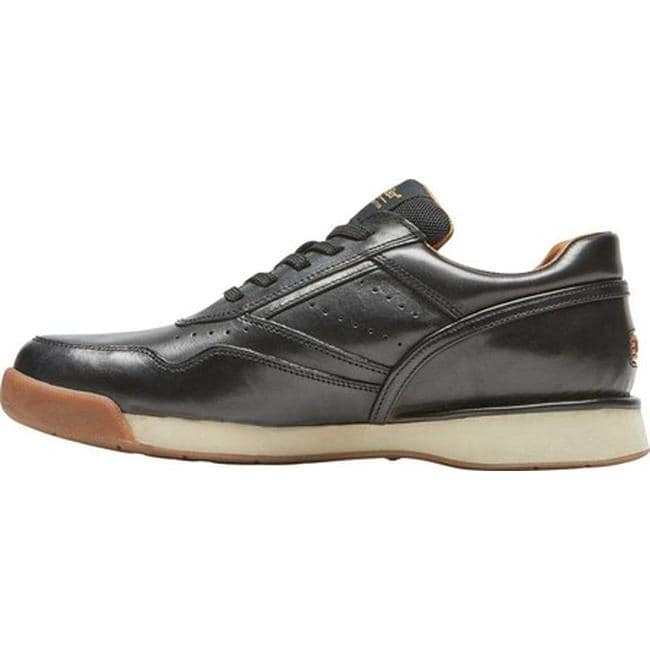 b99171eadf78d Shop Rockport Men's ProWalker 7100 LTD Sneaker Black Burnished Leather - On  Sale - Free Shipping Today - Overstock - 25577957