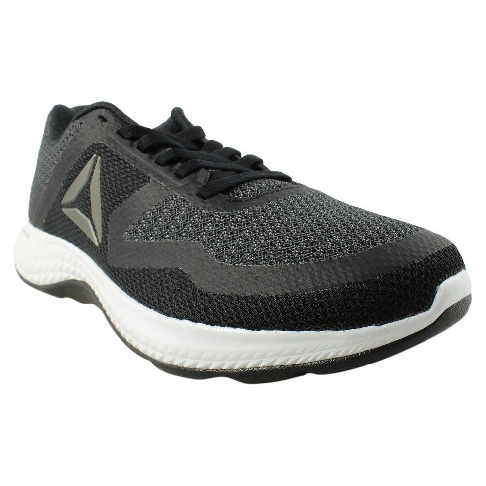 1741dcf219b Shop Reebok Mens Astroride Duo Black Running Shoes Size 7.5 - Free ...