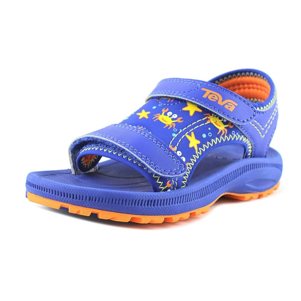 b4058a14777c Shop Teva Psyclone 4 Toddler Open-Toe Synthetic Blue Fisherman Sandal -  Free Shipping On Orders Over  45 - Overstock.com - 19499336