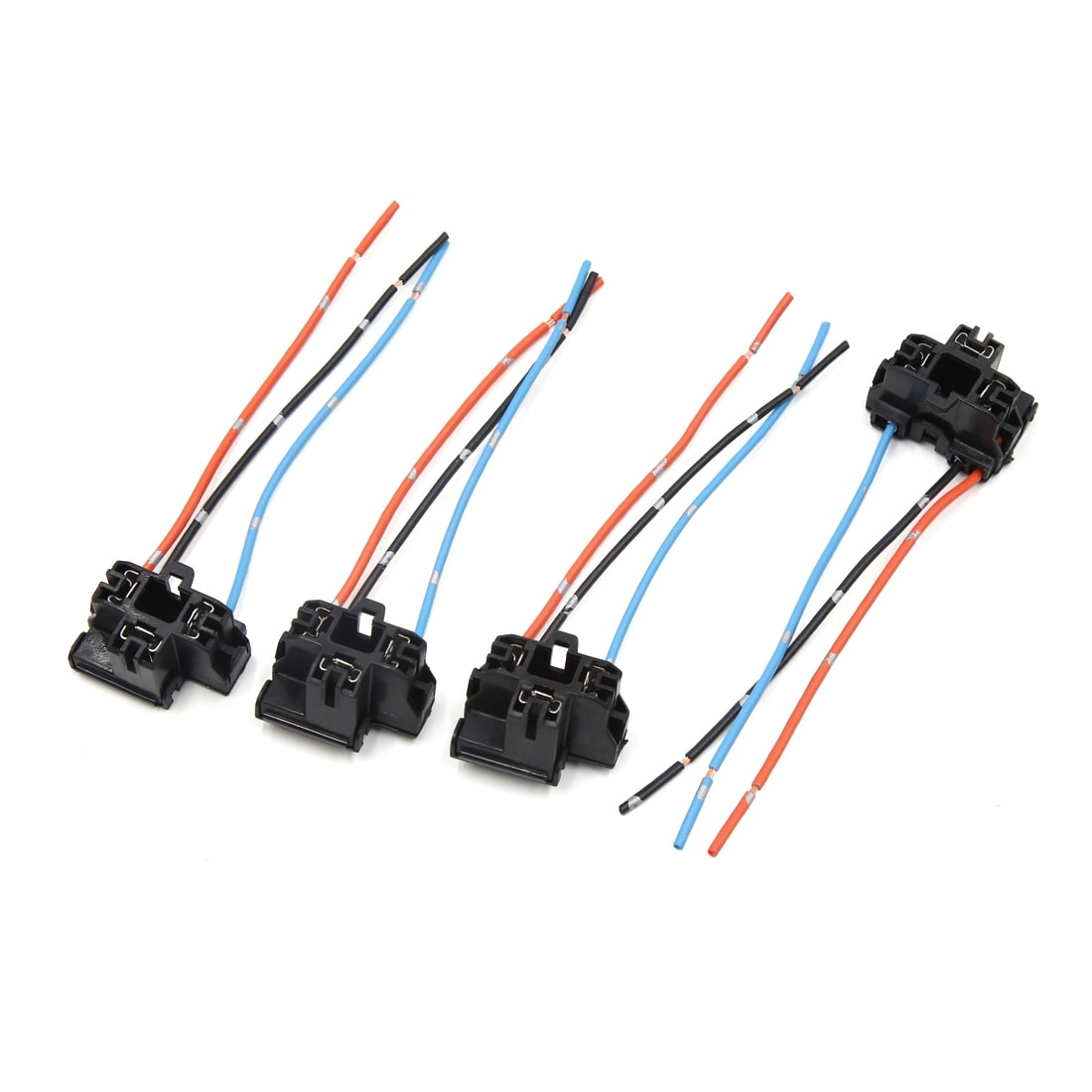 Shop 2 Pcs H4 Plastic Wire Wiring Car Head Light Bulb Harness Socket New Headlight Male Connector Plug Free Shipping On Orders Over 45 17579461