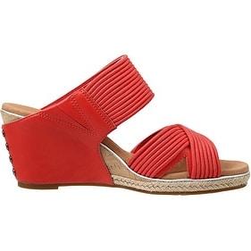 985c372278a Ugg Women's Hilarie Wedge Slide Sandal